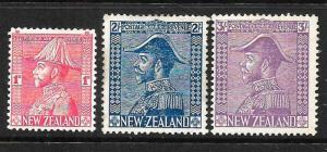 NEW ZEALAND 1926   ADMIRAL SET 3   MLH     SG 466/68