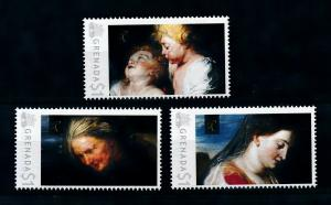 [100053] Grenada 2009 Art Painting Rubens Virgin and Child  MNH