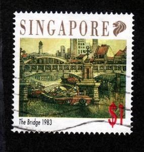 Singapore 619 Used!