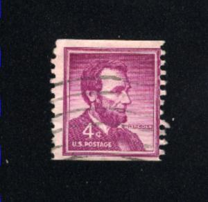 USA #1058  1  used 1954-1973 PD .08