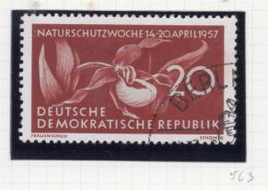 East Germany 1956 Early Issue Fine Used 20pf. 222121
