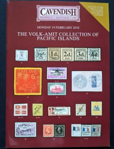 Auction Catalogue VOLK-AMIT PACIFIC ISLANDS Stamps Covers