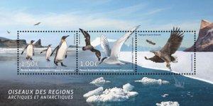 Scott #573 Penguins and Birds S/S MNH