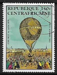 Central African Republic # C283 - Hot Air Balloons - used....(BRN8)