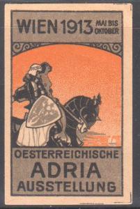 OSTERREICHISCHE ADRIA AUSSTELLUNG WIEN DATED 1913