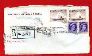 1956 STETTLER, ALTA. ALBERTA Registered  Canada cover