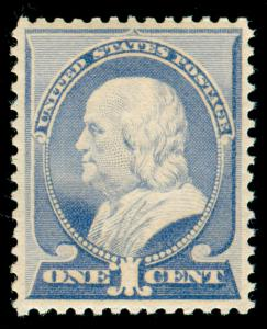 MOMEN: US STAMPS #212 MINT OG NH VF/XF