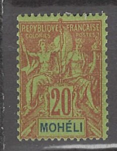 COLLECTION LOT # 3008 MOHELI #6 MH 1906 CV=$13