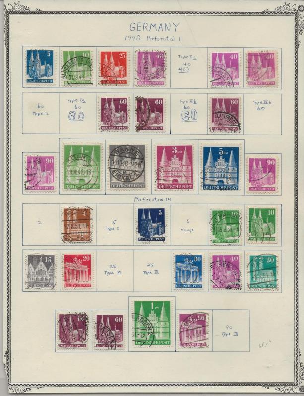 Germany 634//661 [specialized] willmer [aa28]