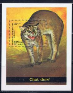 Malagasy 768 NH 1986 Wild Cat S/S
