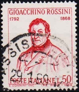 Italy. 1968 50L .S.G.1231 Fine Used