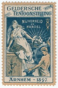 (I.B) Netherlands Cinderella : Industry Exhibition (Arnhem 1897)