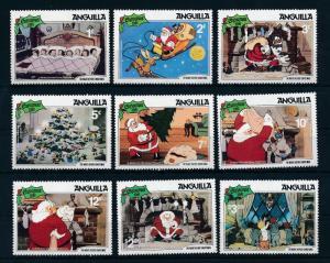 [22100] Anguilla 1981 Disney Night before Christmas Santa Clause Sleigh MNH