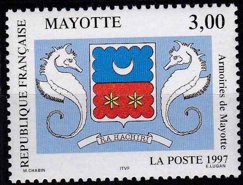 Mayotte 86 MNH (1997)