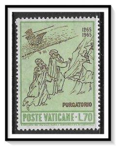 Vatican City #412 Dante Alighieri Anniversary MNH