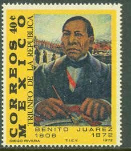 MEXICO 1044 Benito Juarez Death Centennial. MINT, NH. VF.