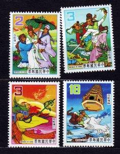 J23000 JLstamps 1983 taiwan china mnh set #2363-6 fairytale
