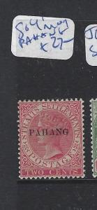 MALAYA  PAHANG  (P1111B)  QV 2C  SG 4   MOG