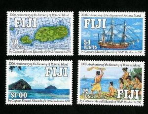 Fiji Stamps # 641-4 VF OG NH