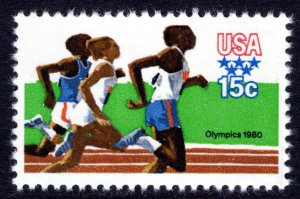 1791 MNH single Olympic Games - Running