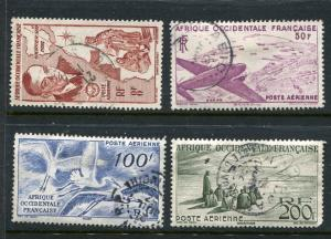French Equatorial Africa #C11-4 Used