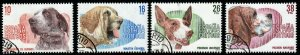 SPAIN SG2728/31 1983 SPANISH DOGS FINE USED