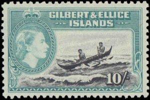 1956 Gilbert & Ellice Islands #61-72, Complete Set(12), Never Hinged
