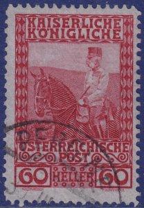 Austria - 1908 - Scott #122 - used - PREGINE pmk Italy