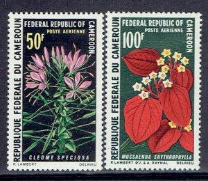 Cameroun, Scott #C140-C141; Plants, MH