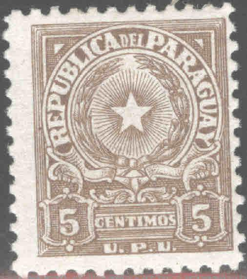 Paraguay Scott 498 MH*  1957 stamp