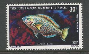 AFARS & ISSAS  C60  MINT HINGED,  SCARUS VETULA