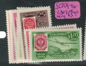 Colombia SC 709-12, C351-4 MOG (3euw)