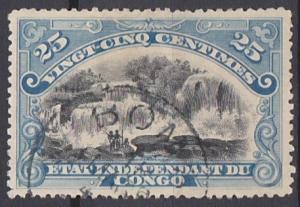 Belgian Congo 21 used (1900)