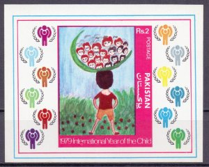 Pakistan. 1979. bl5. children. MNH.