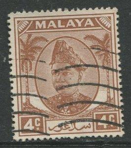 STAMP STATION PERTH Selangor #83 Sultan Hisam-ud-Din Alam Shah Used 1949