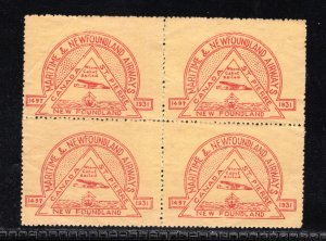 Maritime and Newfoundland Airways, Private Commercial Airlines, Block of 4, MNG