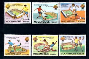 [46453] Mozambique 1981 Sports World Cup Soccer Football Spain MNH
