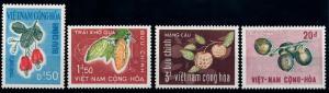 [65413] Vietnam South 1967 Flora Fruits Fruchte  MNH