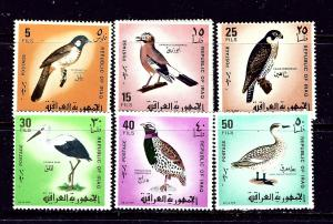 Iraq 463-69 MLH 1968 Birds