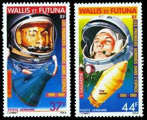 Wallis & Futuna Islands 1981 Scott #C106-C107 Mint Never Hinged