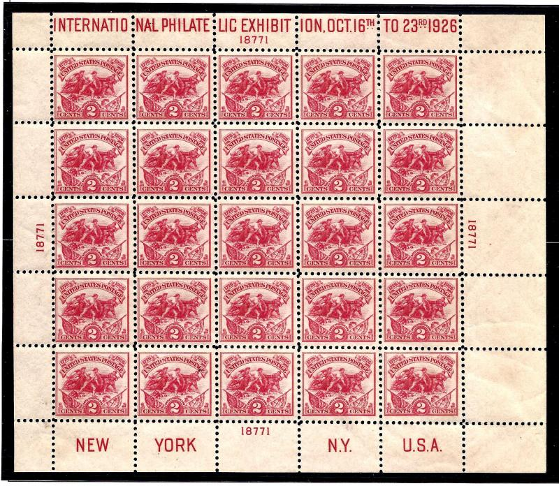 630 Mint,OG,NH... Souvenir Sheet... SCV $575.00