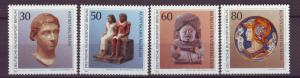 J20740 Jlstamps 1984 berlin germany set mnh #9n488-91 art