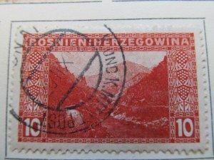 Bosnia & Herzegovina 1906 10h fine used stamp A13P17F25