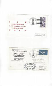 US Navy USS Sandoval APA 194, Last Day Postal Service
