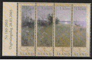 2003   ALAND  -  SG.  229 / 232 / LOT A  - LANDSCAPE IN SUMMER  -  UMM