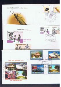 NEPAL 2002 FDCs