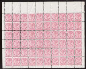 Prince Edward Island #5 VF/NH Full Sheet Of 60