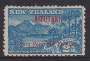Aitutaki Sc#3 MNH