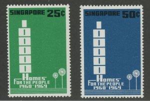 Singapore 99-100 ** mint NH (2110 25)