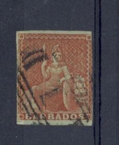 Barbados Scott 4 Used (Catalog Value $325.00)